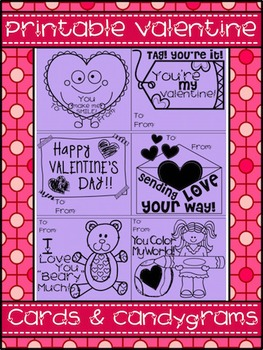 [FREE] Valentine Cards and Candygrams
