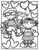 FREE Valentine Coloring Pages {Made by Creative Clips Clipart}