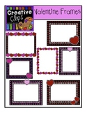 FREE Valentine Frames {Creative Clips Digital Clipart}