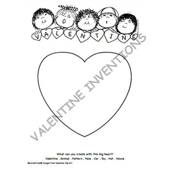FREE Valentine Invention Printable