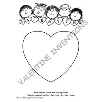 FREE VALENTINE INVENTIONS (Karen's Kids Printables)