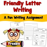 FREE Friendly Letter Writing Activity