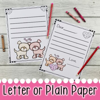 FREE Valentine's Day Letter Writing Templates