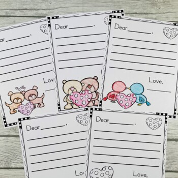 FREE Valentines Day Letter Writing Templates by Crystal McGinnis