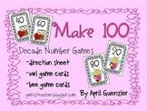FREE Valentine Math Game - Make 100
