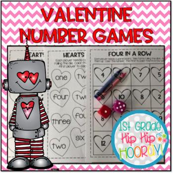 FREE Valentine Math Games