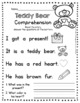 FREE Valentine Story With Comprehension Questions -  Valentines Day Reading