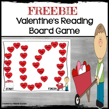 FREE Valentine's Board Game