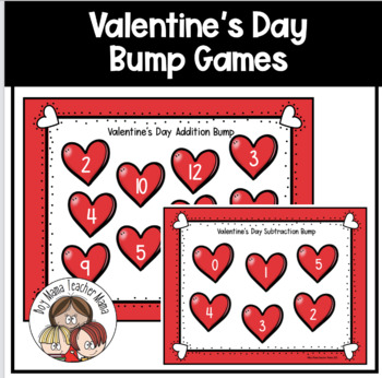 FREE Valentine's Day Addition Bump Game