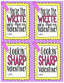 FREE Valentine's Day Card for Teachers OR Students