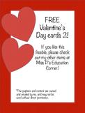 FREE Valentine's Day Cards 2