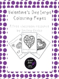 FREE Valentine's Day Colouring Pages