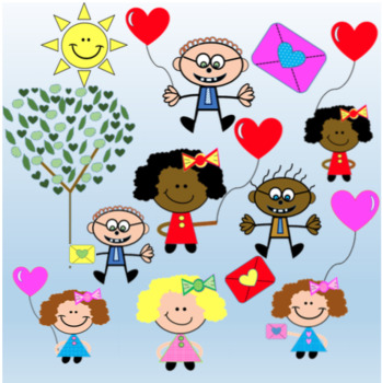 FREE Valentine's Day Doodle Kids