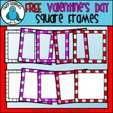 FREE Valentine's Day Frames Clip Art - Chirp Graphics