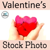 Stock Photo: FREE Valentine's Day Hand Full Of Hearts