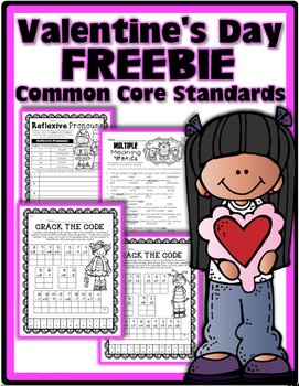 FREE: Valentine's Day Packet {Fully Aligned to Common Core}