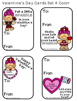 FREE -Valentine's Day Ready-To-Print Cards - Holiday - Seasonal