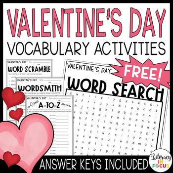 Valentine's Day Word Games