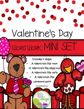 FREE Valentine's Day Word Work {Mini Set}