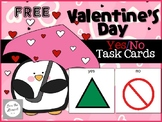 FREE Valentine's Day Yes/No Task Cards (AAC) For Students