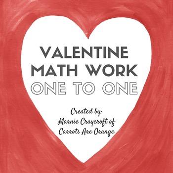Valentine Preschool Math