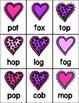 Valentine's CVC Word Game