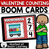FREE Valentines Counting 0-10  BOOM Cards for Preschool or