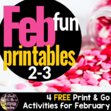 Valentine's Day Printables | 2nd 3rd Grade FREE Valentine's Day Activities