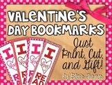 {FREE!} Valentine's Day Bookmarks - I LOVE To Read! Just P