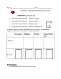 FREE Valentine's Day Candy Heart Experiment
