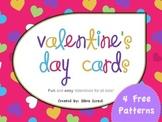 {FREE} Valentine's Day Cards