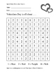 Valentines Day FREE - LOVE Heart - Color By Numbers!