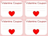 FREE Valentine's Day Coupons Printable Blank