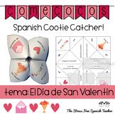 Spanish Valentine's Day Fortune Teller, Cootie Catcher, Speaking Activity