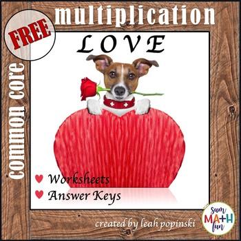 FREE! Valentine's Day Math