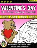 Valentine's Day Variety Pack, Alphabets,Math,Games,Valentine's Day Cards, FREE
