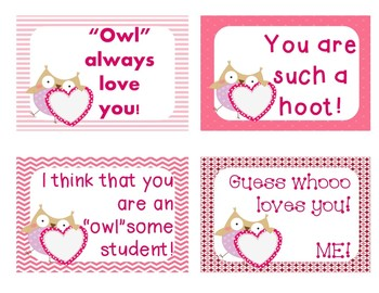 FREE Valentines for Students