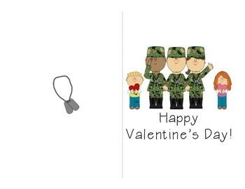 FREE Valentine's for Veterans card