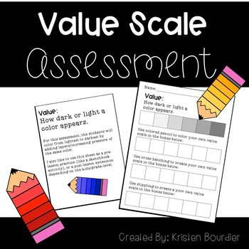 FREE Value Scale Assessment