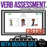 FREE Verb Assessment Boom Cards™ for Speech Therapy | Vari