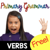 FREE Verbs Worksheets - grammar activities for first grade and second grade