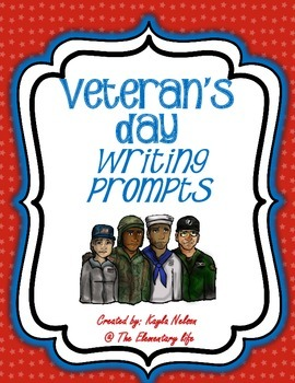 FREE Veteran's Day Writing Prompts