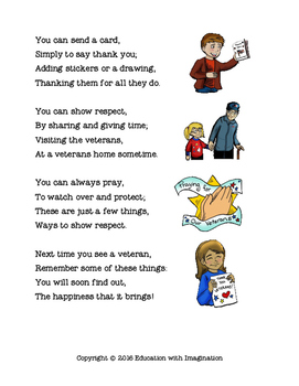 FREE Veterans Day Rhyme