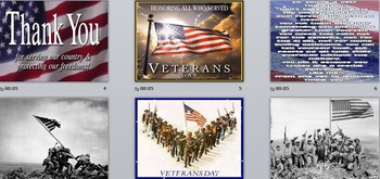 FREE! Veteran's Day Tribute in Pictures