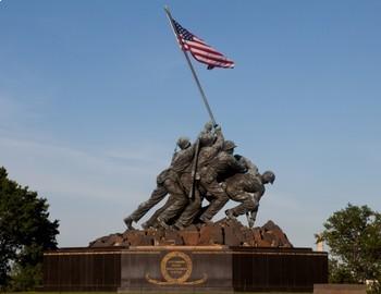 FREE - Veterans Day & Memorial Day Poster: Iwo Jima