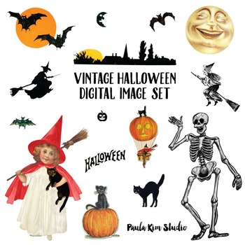 FREE Vintage Halloween Clipart