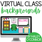 FREE Virtual Classroom Backgrounds {Google Classroom™ and