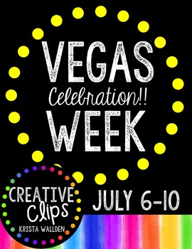 FREE Virtual VEGAS WEEK Information! {Creative Clips Digit