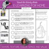 FREE - Visual Art  Elements of Art Activities - Student Pa