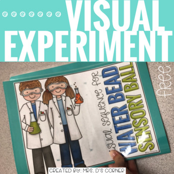FREE Visual Science Experiment ( Water Bead Sensory Ball )